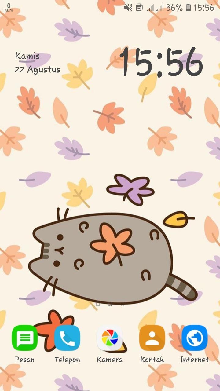 Pusheen Cute Cat Wallpaper For Android Apk Download