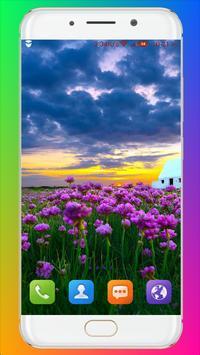 Purple Flower Wallpaper screenshot 6