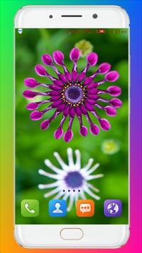 Purple Flower Wallpaper screenshot 4