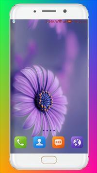 Purple Flower Wallpaper screenshot 2