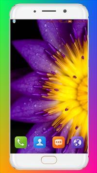 Purple Flower Wallpaper screenshot 5