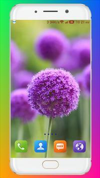 Purple Flower Wallpaper screenshot 9