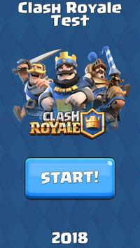 Who are you from Clash Royale - test! poster