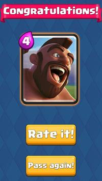 Who are you from Clash Royale - test! screenshot 2