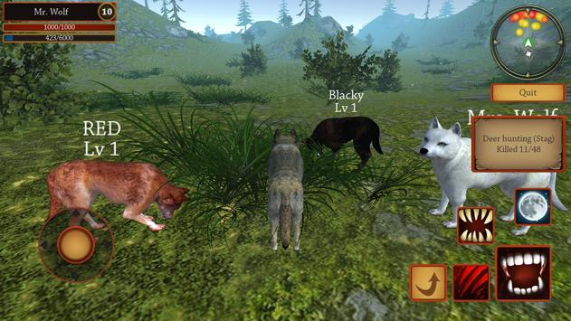 Wolf Simulator Evolution screenshot 5