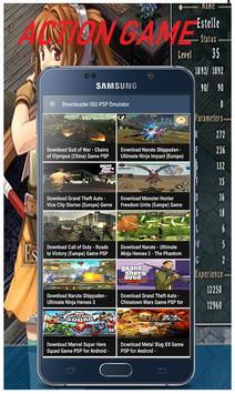 Free PSP Game Emulator File Iso screenshot 3