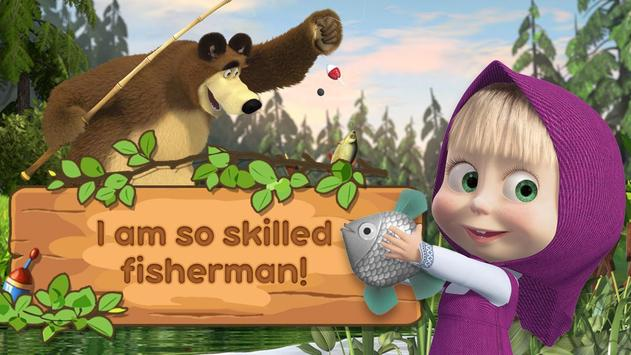 Masha e lorso: bambini pesca for android apk download