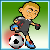 In fence Soccer icon