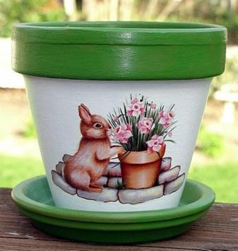 Painted Flower Pot Designs screenshot 4