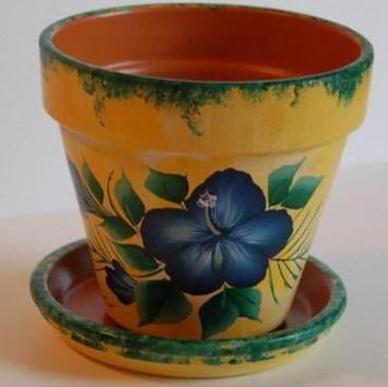 Painted Flower Pot Designs screenshot 7
