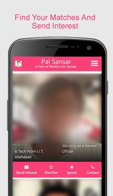 Pal Sansar Free Pal Matrimonial Matrimony App for Android