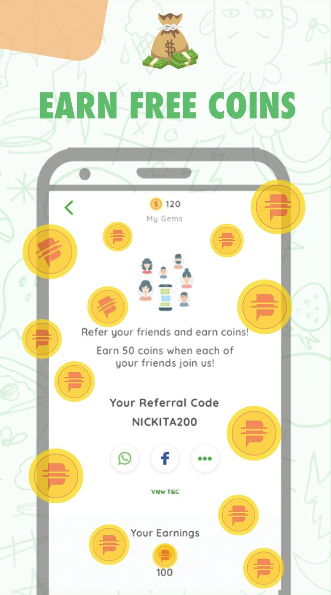 Chat free coins fun MeetFems