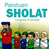 Tuntunan Sholat Lengkap Doa dan Audio Offline icon