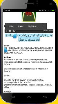 Tuntunan Sholat Lengkap Doa dan Audio Offline screenshot 4