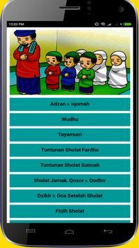 Tuntunan Sholat Lengkap Doa dan Audio Offline poster