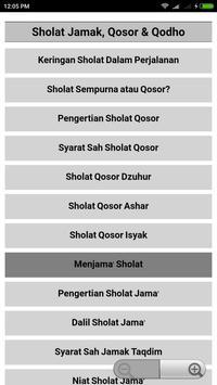 Tuntunan Sholat Lengkap Doa dan Audio Offline screenshot 3