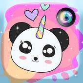 Panda Unicorn icon