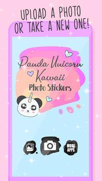 Panda Unicorn poster