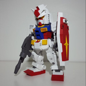 Papercraft Gundam Toy Design icon