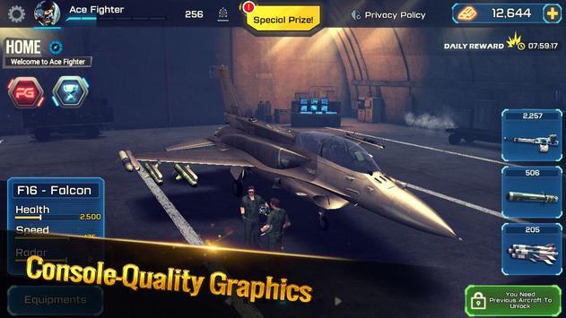 الطائرة الحربية: معركة جوية تصوير الشاشة 1