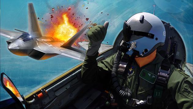 الطائرة الحربية: معركة جوية الملصق