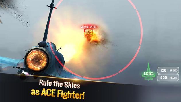الطائرة الحربية: معركة جوية تصوير الشاشة 14