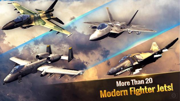 الطائرة الحربية: معركة جوية تصوير الشاشة 12