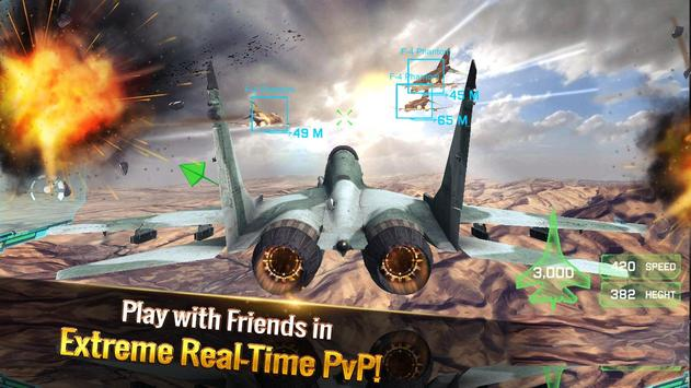 الطائرة الحربية: معركة جوية تصوير الشاشة 18