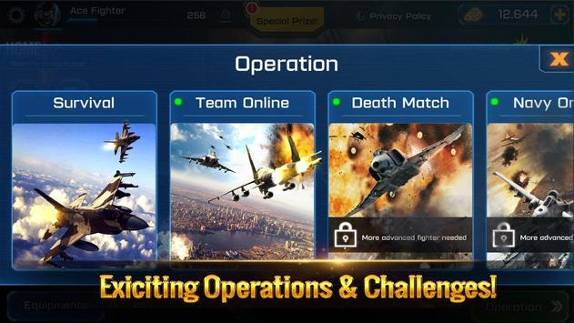 الطائرة الحربية: معركة جوية تصوير الشاشة 15