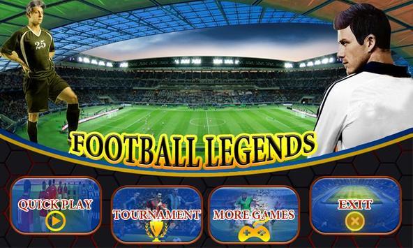 Football Legends captura de pantalla 3