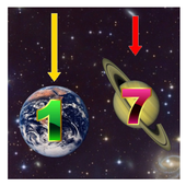 Numbers In Planets icon