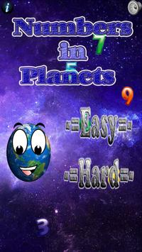 Numbers In Planets poster