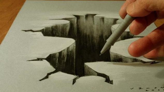 Pencil 3D Art Painting screenshot 1