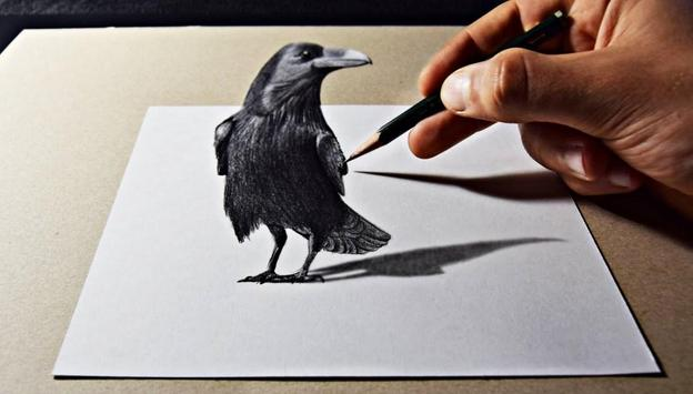 Pencil 3D Art Painting screenshot 5