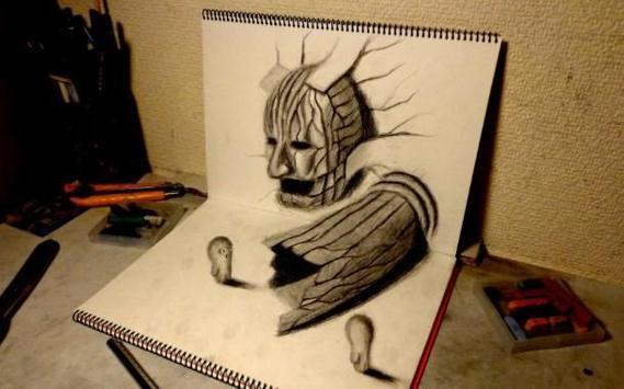 Pencil 3D Art Painting screenshot 6