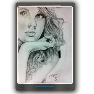 Pencil Photo Sketch-Sketching Drawing Photo poster