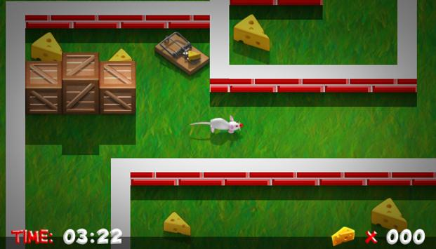 Lab Rat - Escape the maze screenshot 1