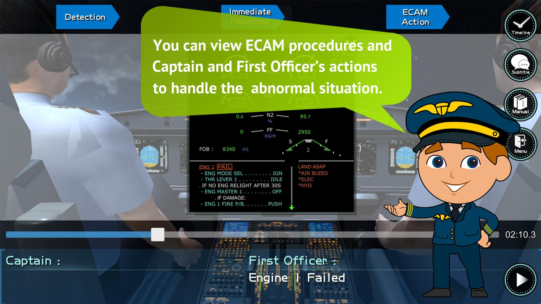 A320 Virtual Simulator Lessons for Android - APK Download