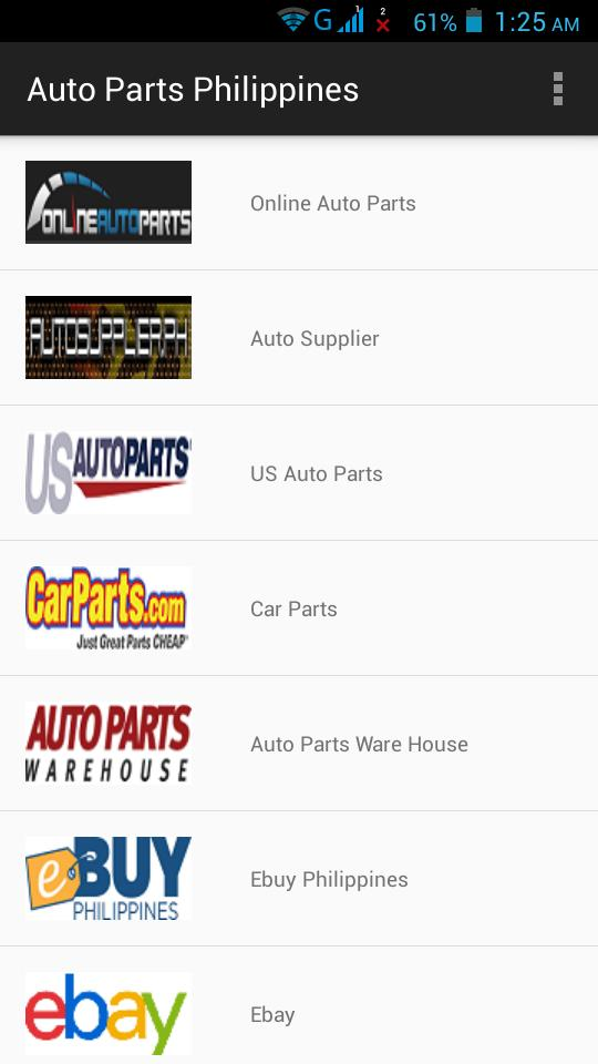 Auto Parts Philippines cho Android - Tải về APK