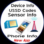 Phone Info Pro (Device Info-Sensor Info-SIM USSD) icon