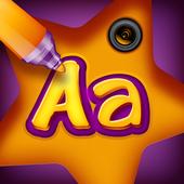 Photo Editor Text Writing icon