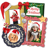 Christmas Photo Collage - Winter Picture Frames icon