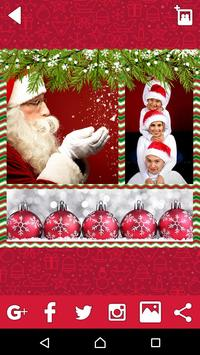 Christmas Photo Collage - Winter Picture Frames screenshot 1