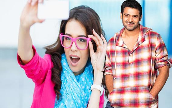 Selfie Photo With Prabhas Indian Celebrity Photos poster