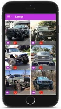 Pickup Truck Wallpaper HD 4K poster