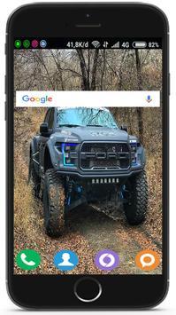 Pickup Truck Wallpaper HD 4K screenshot 3