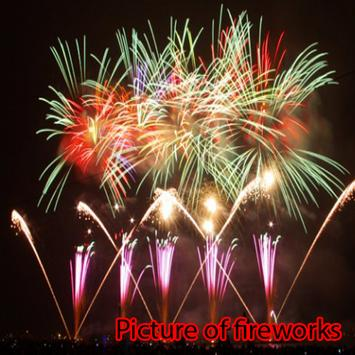 Picture of fireworks poster