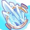Crystalline icon