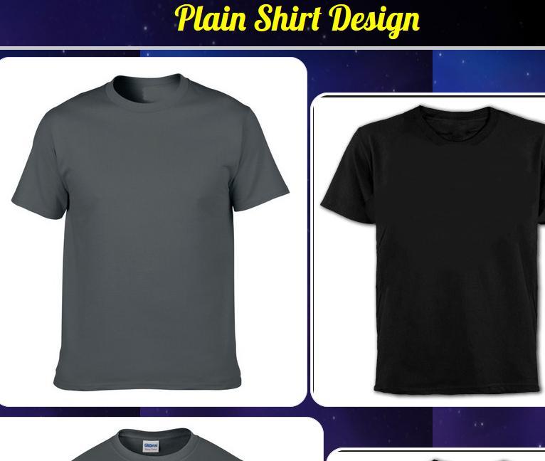 Desain Kaos Polos For Android Apk Download