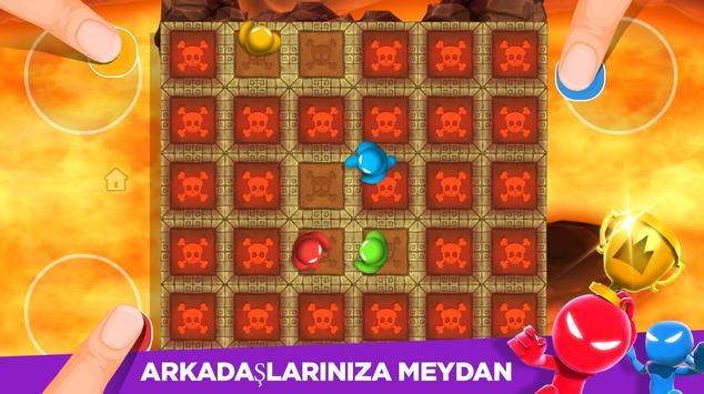 Stickman Partisi: 1-4 Oyunculu Oyunlar Ekran Görüntüsü 11